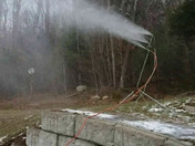 Snow making in Jackson!