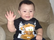 Santiago Leonard Gonzales 1st Birthday