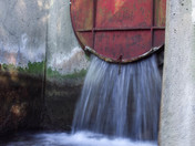 Industrial Waterfall