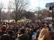 Brookline High School walkout protest