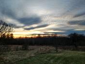 Sunset in Dalton NH