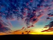 Sunset from Latrobe Road