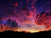 Sunset in Pewaukee tonight