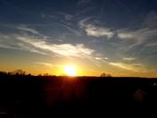 Nebraska sunset.