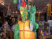 DIANE THE TURTLE'S 49TH BIRTHDAY PARTY AT TWIN DESIGNS GIFT SHOP IN BRISTOL NH
