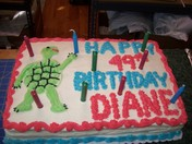 DIANE THE TURTLE'S 49TH BIRTHDAY PARTY at Twin Designs Gifts in Bristol, NH