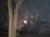 Moon Sunday morning