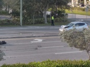 Boynton Beach this happened today 8:00am SUV collision with bike