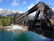 Old Railway Bridge - Canmore, Alberta