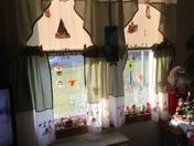 Window Christmas decorations