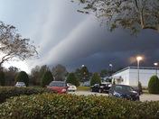 Scary looking cloudsin  Marrero