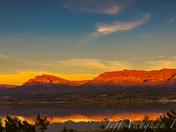 Caballo Lake NM State Park Sunset