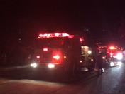 Gas explosion in house in cedar Crest