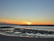 Ferry Beach Sunset