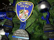 13 Year Old gives Ornaments in dedication to Sean Suiter