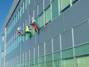 Mighty window cleaners