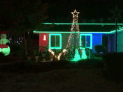 My Christmas Light Display