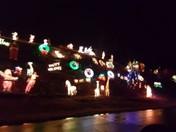 Christmas lights at 13 Wilshire Lane, Pelham, NH