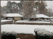 Snow in BRANDON, MS!!!!!!!!