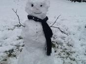 A Beautiful snow day in Hazlehurst