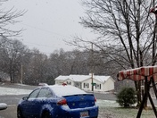 Snowing in Greer!