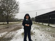 snowing in Houma