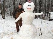 Bubba the snowman