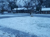 Snowing like crazy!