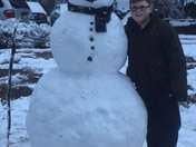 Johnathan s snow man