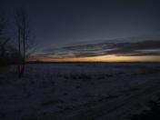 Sunset on the Prairies