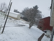 Snow from at my house in airville