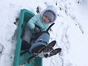 Out for a sled ride