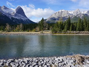 Canmore, Alberta - Rocky Mountains - Bow River