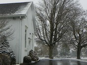 Old Road Mennonite Church and Cemetery, SNOW
