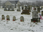 Pequea Presbyterian Church and Cemetery, SNOW
