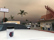 Pismo Beach So Cal Fire Smoke
