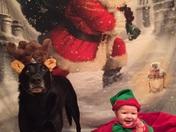Little Elf and her Reindeer