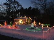 Merry xmas from Norton mass.