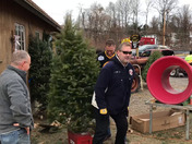 Bruins Foundation Trees for Soldiers 2017