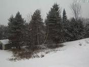 Snowy morning in northwest Canterbury