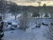 Wolfe Park after first snowfall
