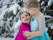 My daughters requested a Frozen photoshoot today!