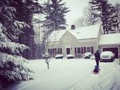 John's 1st NH snowstorm