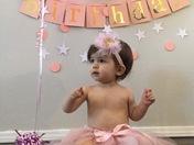 Olivia Luna Jaramillo 1st Birthday