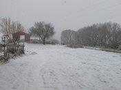 First snow in Los Ojos