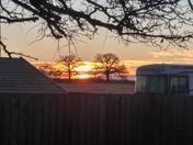 12-15-17  Sunrise from my backyard.