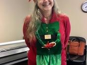 Kathryn Whitaker celebrates National Ugly Christmas Sweater Day!