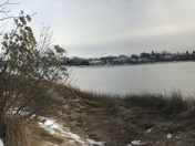 Panorama of North Mill Pond in Portsmouth