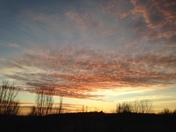 Sunset in Honey Creek
