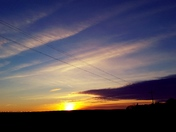 Beautiful Friday Sunset! We need snow though, seriously! :)